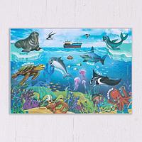 Коврик для лепки 'Морской мир', формат A5