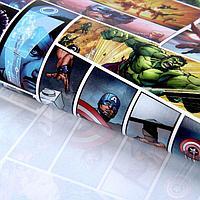 Бумага упаковочная глянцевая 'Ты Супер Герой', Мстители, 70 х100 см (комплект из 10 шт.)