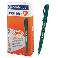 Ручка-роллер, 0.5 мм, Centropen 4615, зеленая, невысыхаемая, длина письма 2200 м, картонная упаковка (комплект