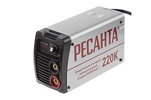 Инвертор сварочный РЕСАНТА САИ 220К компакт 220±10% MMA 10-220А 70% max5мм IP21