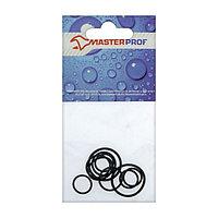 Набор колец MasterProf, для обжимных фитингов, 4 + 4 + 4 + 2 шт.