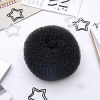 Валик для волос (чёрный, большой) (комплект из 6 шт.)