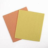 Набор салфеток для влажной уборки губчатые 15x17 см, целлюлоза, 2 шт