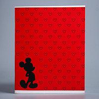 Тетрадь 48 листов в клетку Mickey 'Микки Маус'