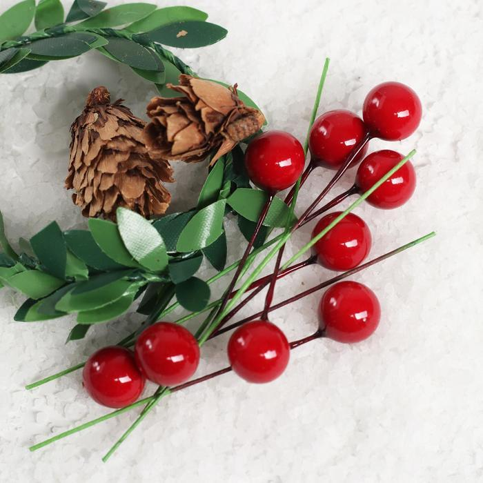 Кукольная миниатюра 'Веточки, шишечки, ягодки' - фото 2