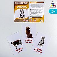 Обучающие карточки по методике Г. Домана 'Что говорят животные'
