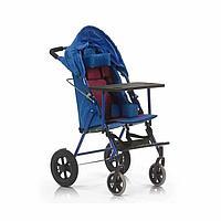 Кресло-коляска для инвалидов Армед H 032 синяя