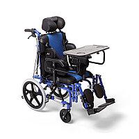 Кресло-коляска для инвалидов Армед H 032 С синяя