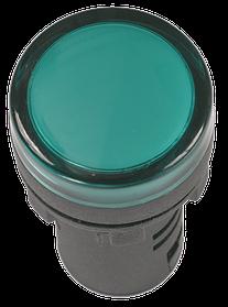Лампа AD16DS(LED)матрица d16мм зеленый 24В AC/DC  ИЭК