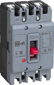 Автоматический выключатель силовой 3Р 125А 36кА /22751DEK/