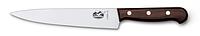 Столовый нож VICTORINOX Мод. CARVING KNIFE ROSEWOOD #5.2000.31 (31см), R18956