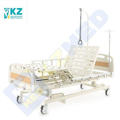 """Кровать медицинская """"KZMED"""" (304M спинки ABS), белый"""