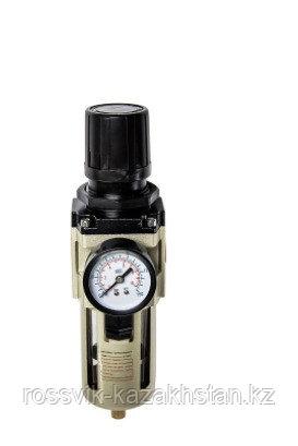 """F151/3.R Регулятор давления ROSSVIK FR с манометром и фильтром конденсата 1/2"""""""