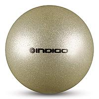 Мяч юниор Металик INDIGO IN119 с блестками