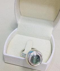 Кольцо с лабрадором / серебро - 17 размер