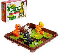 Настольная игра «Умные динозаврики»