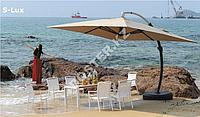 Зонт садовый Sanremo Lux (3.5х3.5) с подставкой