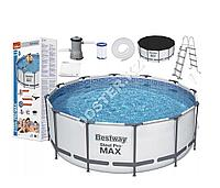Каркасный бассейн BestWay 366х122см полная комплектация