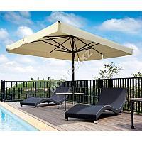 Квадратный зонт для летника 4х4м