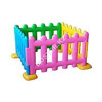Пластиковый детский заборчик