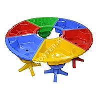 Пластиковый стол песочница