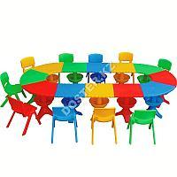 Стол пластиковый большой