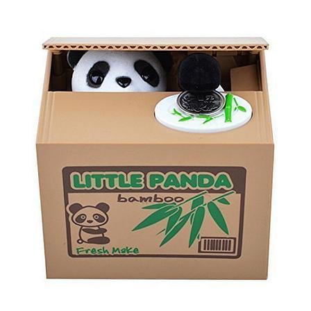 Уценка (товар с небольшим дефектом) Копилка Панда-воришка, фото 2