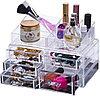 Уценка (товар с небольшим дефектом) Органайзер-стойка для косметики с 5 ящичками, фото 3