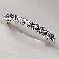 Золотое кольцо с бриллиантами 0.26Сt VS1/H, фото 1