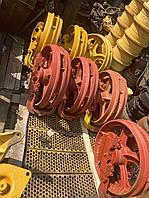 Натяжные колёса для бульдозеров ЧТЗ и ДСТ, (ленивец) Т-130 Т-170 Б-10, 50-21-306-05сп
