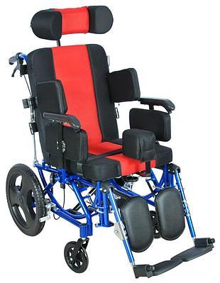 Кресло-коляска универсальная активная (алюм) FS 218LQ (МК-005), красный/черный