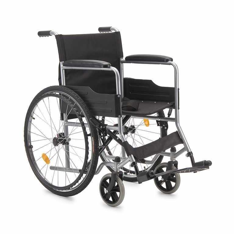 Кресло-коляска для инвалидов Армед H 007, черный