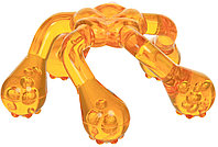 Массажер ЛАПОНЬКА-2 желтый, 5 массажных элементов с шипами