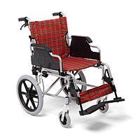 Коляска инвалидная FS907LABН, 46 см, оранжевый/черный