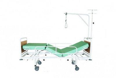 Кровать медицинская функциональная трехсекционная Ока-Медик КМФ3-01