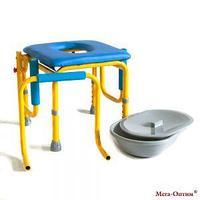 Стул-кресло с санитарным оснащением Мега-Оптим FS 813