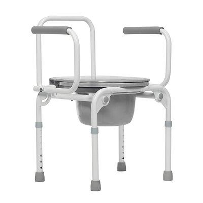"""Кресло-стул инвалидное с санитарным оснащением """"Ortonica"""" ТУ 3 (с откидными подлокотниками)"""