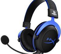 Наушники-гарнитура игровые HyperX HX-HSCLS-BL/EM Cloud Blue for PS4