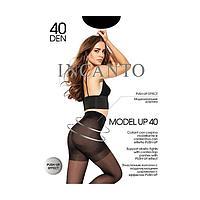 Колготки женские INCANTO Model Up 40 цвет загар (daino), р-р 4