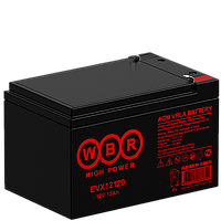 Аккумулятор WBR EVX12120 (12 Aч) для инвалидных колясок