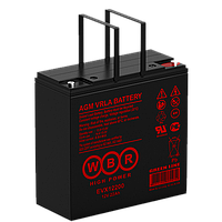 Аккумулятор WBR EVX12200 (22 Aч) для инвалидных колясок