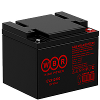 Аккумулятор WBR EVX12400 (40 Aч) для инвалидных колясок