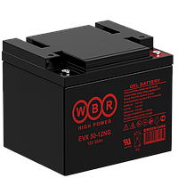 Аккумулятор WBR EVX50-12NG (50 Aч) для инвалидных колясок
