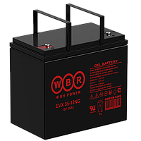 Аккумулятор WBR EVX55-12NG (55 Aч) для инвалидных колясок