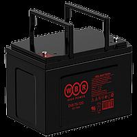 Аккумулятор WBR EVX75-12NG (75 Aч) для инвалидных колясок