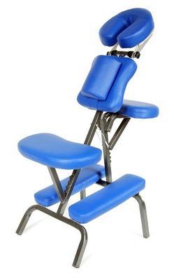 Стул для массажа (JFMC03) MA01 (синий) Медтехника
