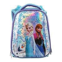 Рюкзак каркасный Disney 37 х 29 х 17, для девочки 'Холодное сердце', синий