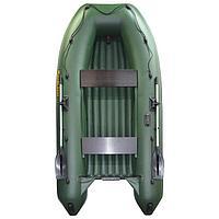 Лодка 'Муссон 3200 НДНД' надувное дно+киль, цвет олива