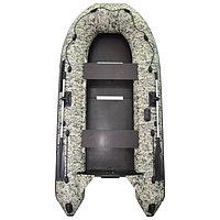 Лодка 'Муссон 3200 СК Пиксель' слань+киль, цвет кмф
