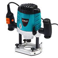 Фрезер электрический Bort BOF-1600N, 1500 Вт, 26000 об/мин, ход 50 мм, цанга 8-12 мм
